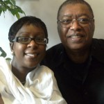 Nikki with Minister Ron Kenoly American Praise and worship leader